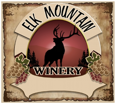 Elk Mountain Winery - LOGO / LABEL