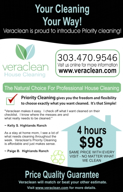 Cleaning Services Print