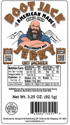 Boot Jack Jerky - PRODUCT LABEL / LOGO